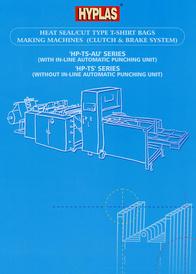 Heat Seal/Cut Type T-Shirt Bags Making Machines