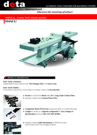 Automatic Tool Changers-H4ACU(English)