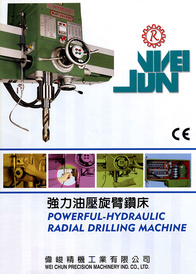 Powerful Hydraulic Radial Drilling Machine