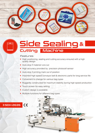 High-Speed Automatic Trimming, Side Sealing And Cutting Machine