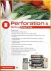 Perforation And Slitter Machine