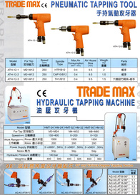 Pneumatic Tapping Machine, Hydraulic Tapping Machine