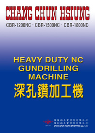 Heavy Duty NC Gundrilling Machine