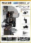 Swiss Typr CNC Auto Lathe Diamond CSB III-S Series