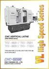 CNC Vertical Lathe<br>VL High Speed Series