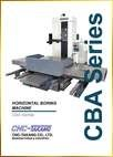 Horizontal Boring Machine<br>CBA Series