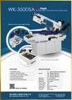 WK-350DSA<br>Double Miter Swivel Semi-Auto Band Saw