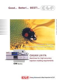 Hydraulic RAM Type CLF Small Injection Molding Machine