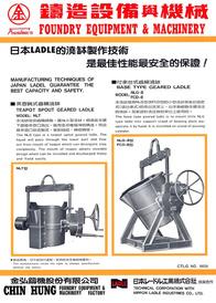 Teapot Spout Geared Ladle
