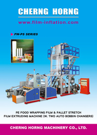 PE Food Wrapping Film & Pallet Stretch Film Extruding Machine