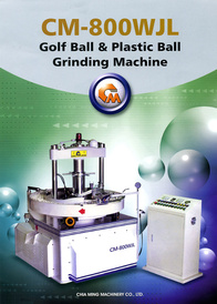 Golf Ball & Plastic Ball Grinding Machines