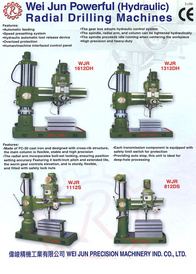 Powerful (Hydraulic) Radial Drilling Machines