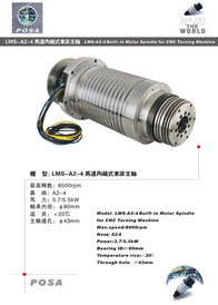 Build-in Motor Spindle
