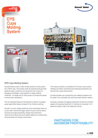 EPS Cups Molding System