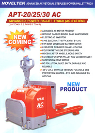 Advanced Power Pallet Truck