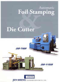 Automatic Foil Stamping Die Cutter