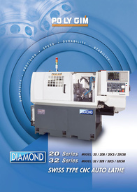 Swiss Type CNC Auto Lathe Diamond (English)