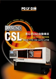 Swiss Type CNC Auto Lathe Diamond